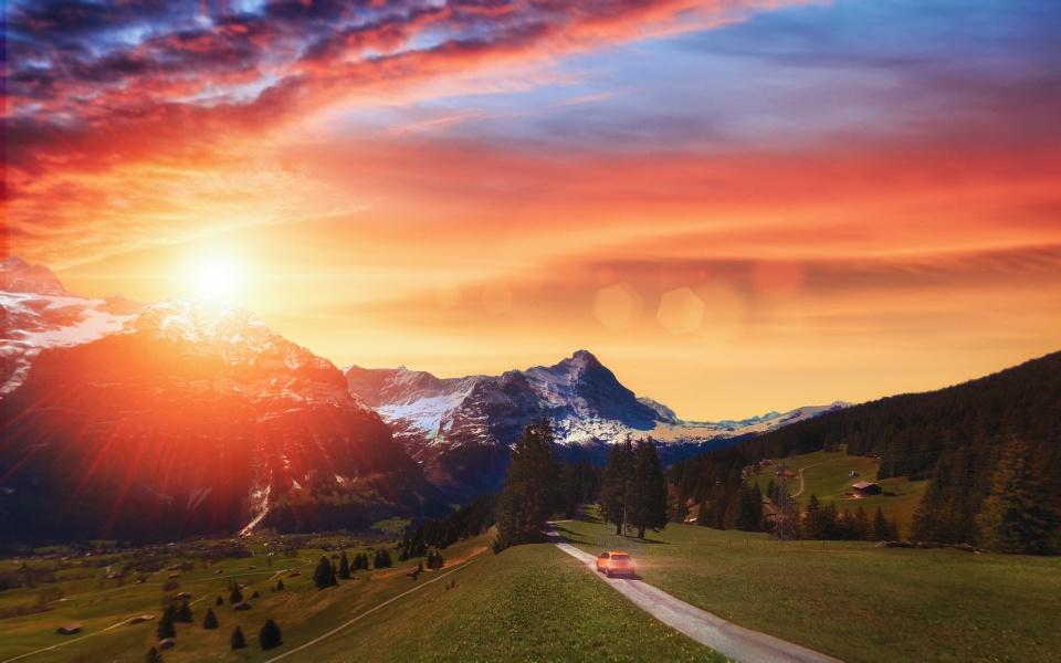 Grindelwald - Suiça [ Ver imagem original ]